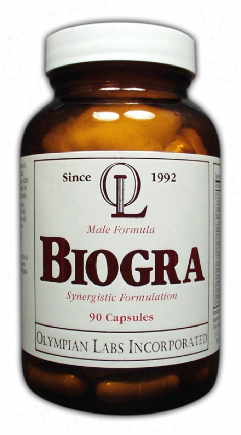Olympian Labs Biogra Male Potency Formula 90caps