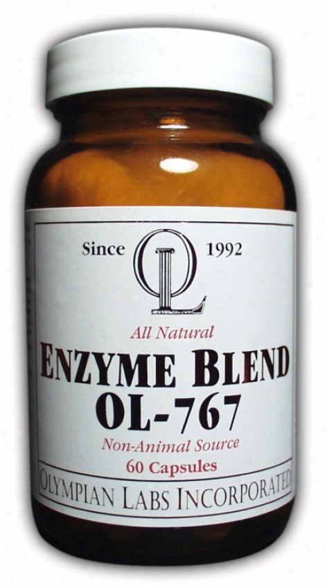 Olympian Labs Enzyme Blend Ol-767 60caps