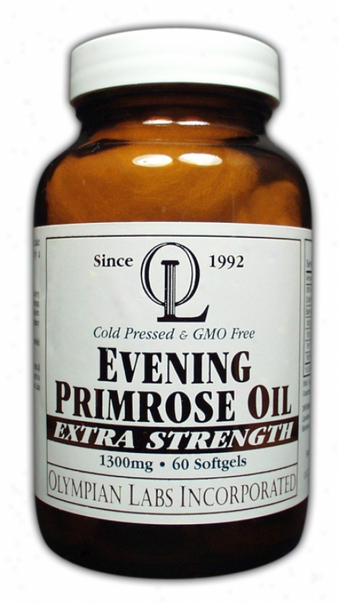 Olympian Labs Evening Primrose Oil  1300mg 60sg