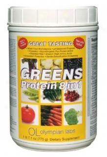 Olympian Labs Greens Protein 8 In 1 775gr Powder