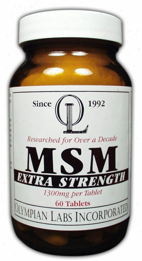 Olympian Labs Msm Extra Strength  Optimsmã¿â¿â¾ 1300mg 60tabs
