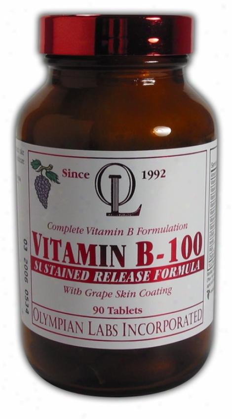 Olympian Labs Vitamin B-100 90tabs