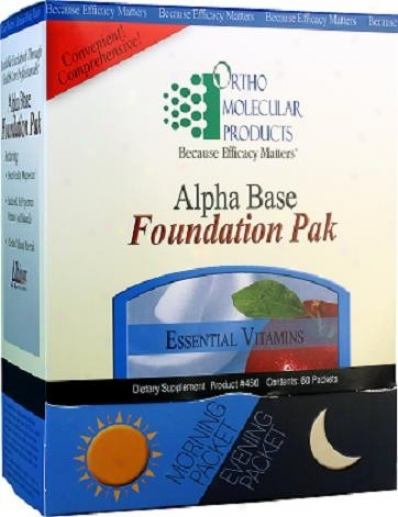 Omp's Alpha Base Foundation Pak 60pkts