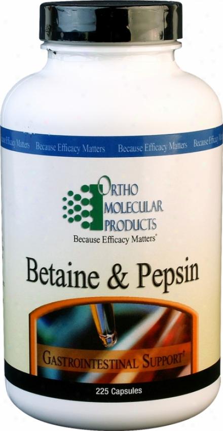 Omp's Betaine & Pepsin 225tabs