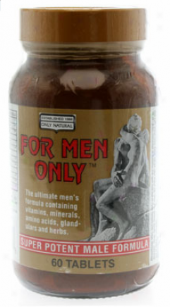 Only Naatural's For Men Only Formuls 60tabs