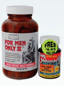 Only Natural's In the place of Men Only Ii W/ Yohimbe 60+10tabs