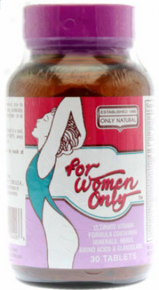 Only Natural's For Women Only Form 30tabs
