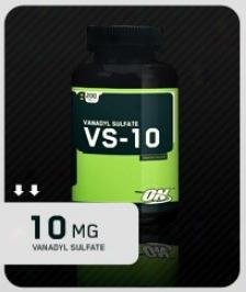 Opitmum Vs-10 (vanadyl Sulfate) - 100 Tablets