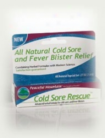 Peaceful Mountain's Cold Sore Rescue Gel .27oz
