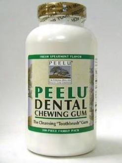 Peelu Gum (spearmint) 300 Pcs