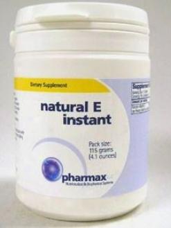 Pharmax Natural E Instant 115 Gms