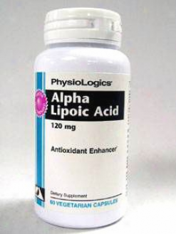 Physiologic's Alpha Lipoic Acid 100 Mg 60 Vcaps