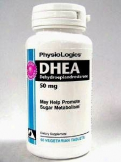 Physiologix's Dhea 50 Mg 60 Tabs