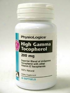 Physiologic's High Gamma Tocopherol 30 Gels