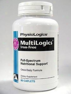 Physiologic's Multilogics Iron Free 60 Match
