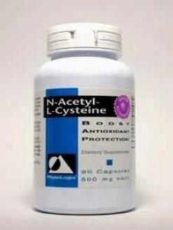 Physiologic's N-aceyl-l-cysteine 600 Mg 90 Caps