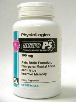 Physiologic's Phosphatidlyserine Complex 500 Mg 60 Gels