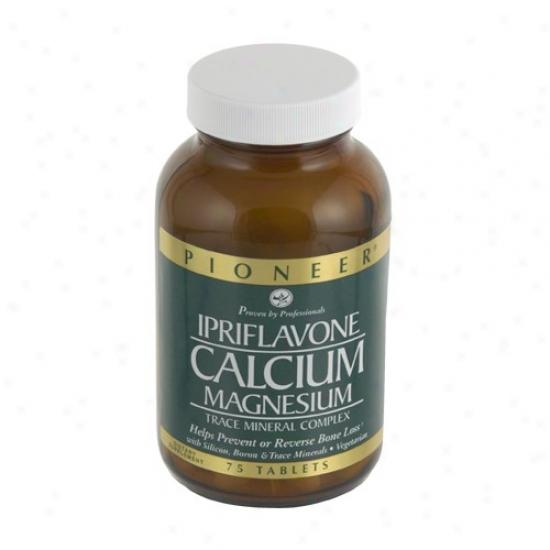 Pioneer's Ipriflavone Calcium/mangesium 150tabs
