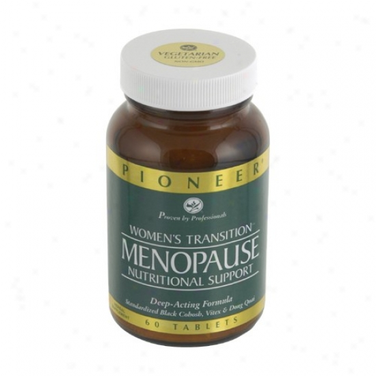 Pioneer's Menopause Nutritional  Support 60vtabs