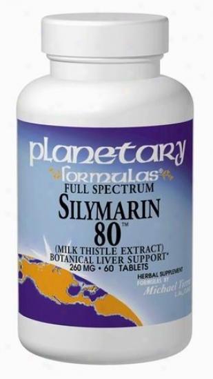 Planetary Formulas Full Speftrum Silymarin 80 120tabs