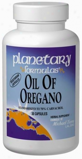 Planetary Formulas Oil Of Orrgano 30caps