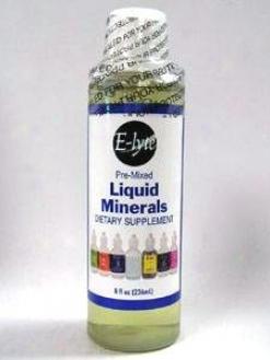 Pre-mixed Liquid Minerals 8 Oz
