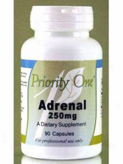 Priority One Vitamin's Adrenal 250 Mg 90 Cap