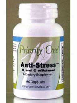 Priority One Vitamin's Anti-stress B&c W/adrenal