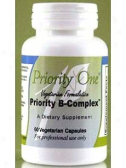 Priority One Vitamin's B Complex 60 Crown