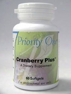 Priority One Vitamin's Bog-berry Plus 60 Gels