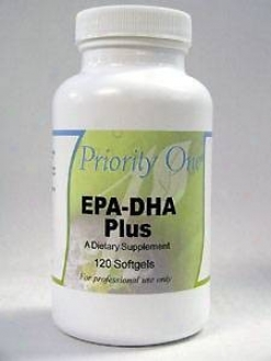 Priority One Vitamin's Epa-dha Plus 120 Gel