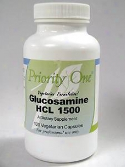 Priority One Vitamin's Glucosamine Hcl 1500 1500 Mg 120 Cap