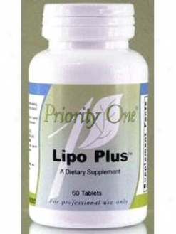 Priority One Vitamin's Lipo Plus 60 Tab