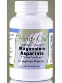 Priority One Vitamin's Magnesium Aspartate 100 Cap