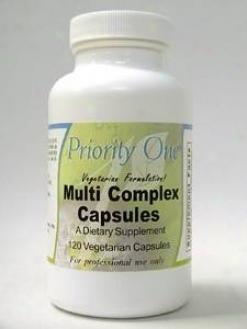 Priority One Vitamin's Multi Complex Capsules 120 Vcaps