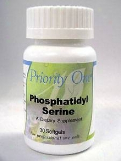 Priority Single Vitamin's Phosphatidyl Serine 100 Mv 30 Gels
