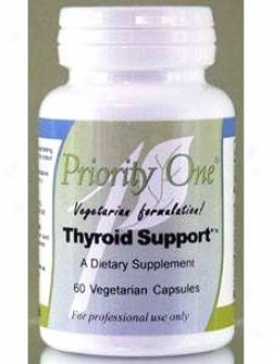 Priority One Vitamin's Thyroid Support 60 Caps