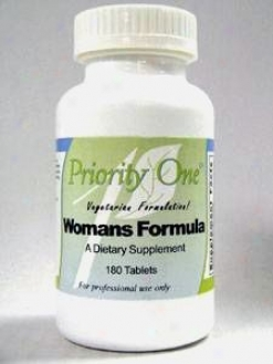 Priority One Vitamin's Women's Formula 180 Tab