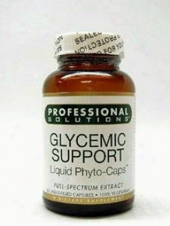 Professional Solution's Glycemic Support 60 Lvcaps