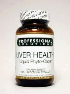 Professional Solution's Liver Health 60 Lvcaps