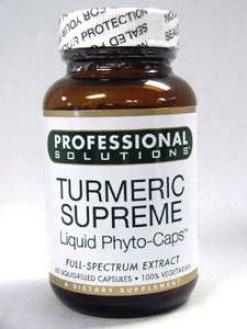 Professional Solution's Turmeric Supreme 60 Lvcaps