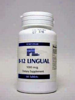 Progressive Lab's B-12 Lingual 60 Tabs