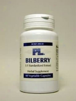 Progressive Labs Bilberry 80mg 60vcaps