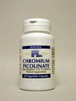 Progressive Labs Chromium Picolinate 200mcg 60vcaps