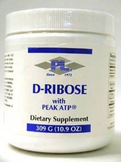 Progressive Lab's D-ribose With Peak Atp 309 G  New!