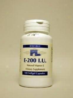 Progressive Labs E-200 20iu 100sg