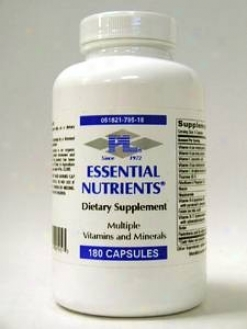 Progressive Lab's Essential Nutrients 180 Caps