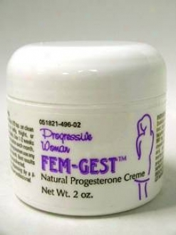 Progressive Lab's Femgest Cream 2 Oz