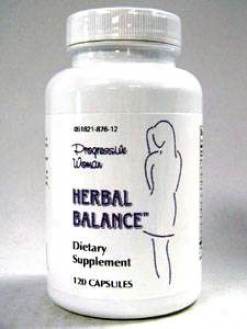 Progressive Lab's Herbal Balance 120 Caps
