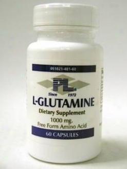 Progressive Lab's L-glutamine 500 Mg 60 Caps